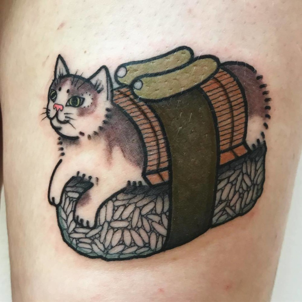 Cat Sushi