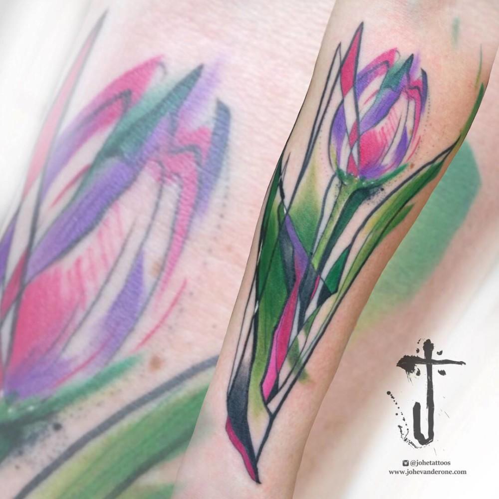 Brush Tulip