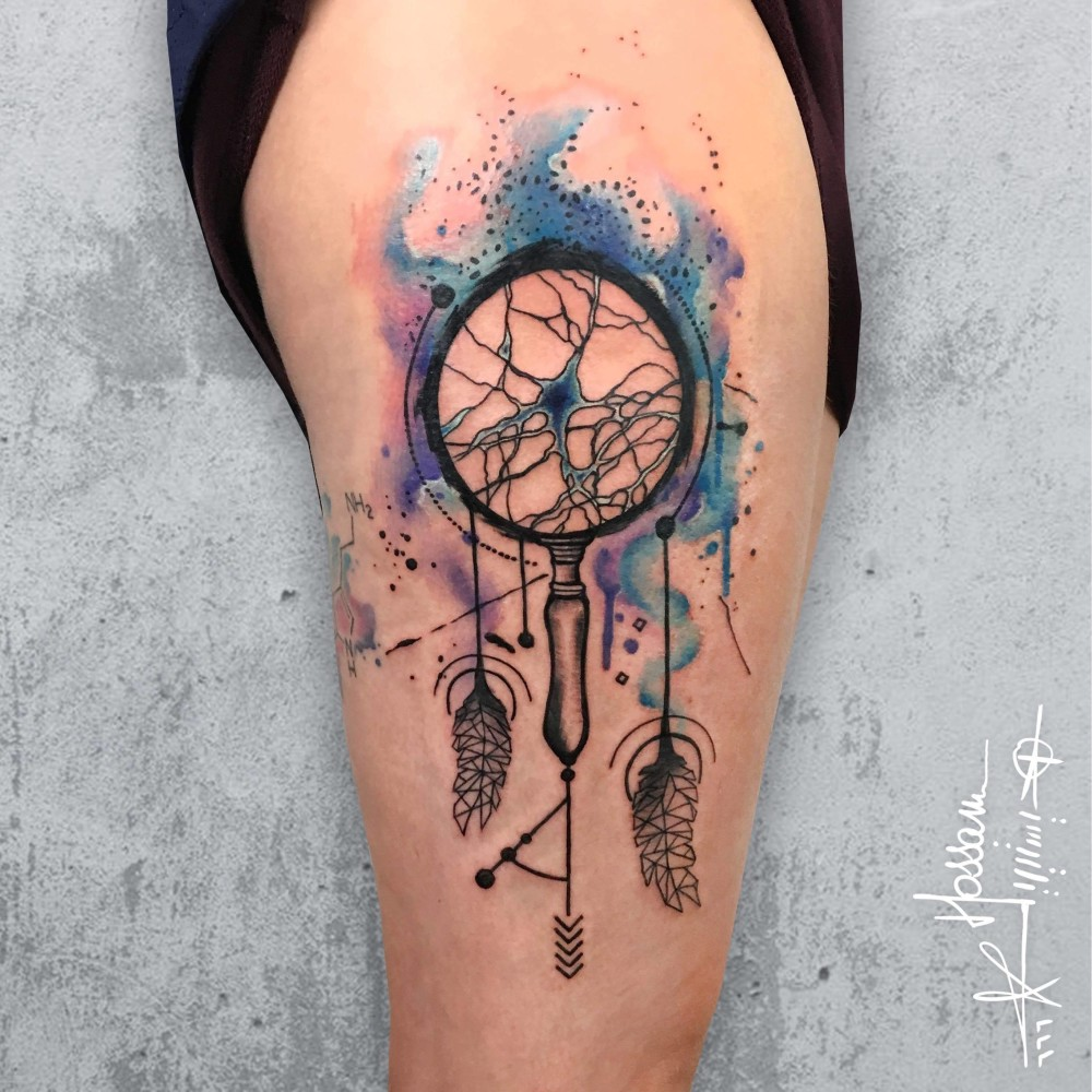 Neuron cell dream catcher