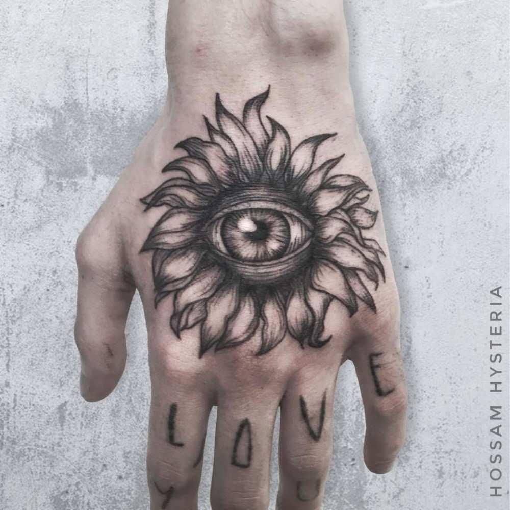 The eye flower